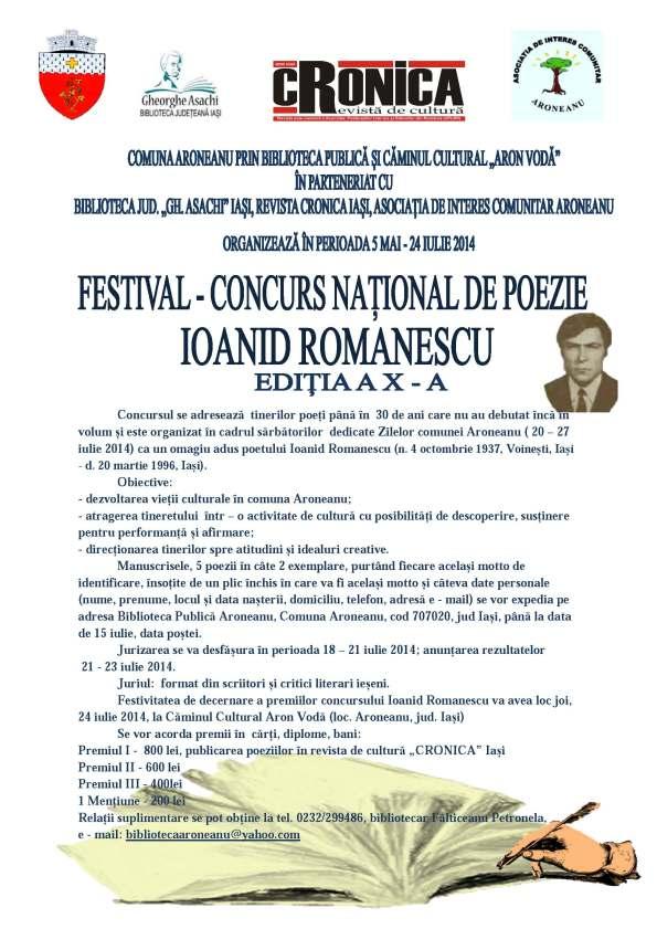 Afis Ioanid Romanescu